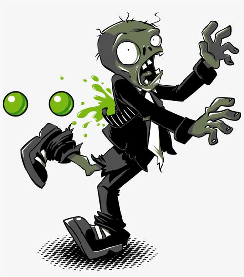 T Shirt Zombie Free Download png images with transparent background