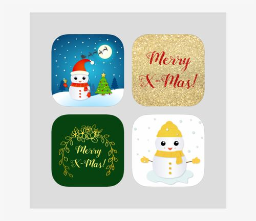 Christmas Stickers Bundle On The App Store - Cartoon Free Download png images with transparent background